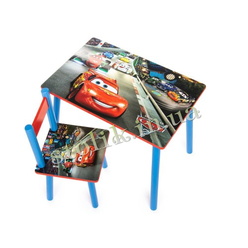 Children's table Cars with 1 chair