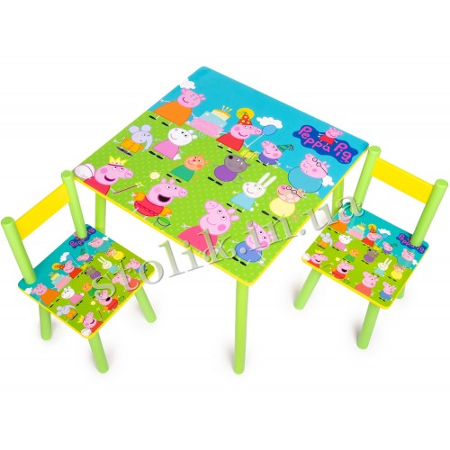 Children's table Peppa with 2 chairs B