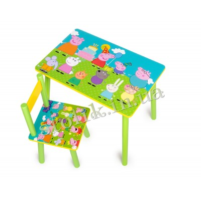 Children's table Peppa with 1 chair А