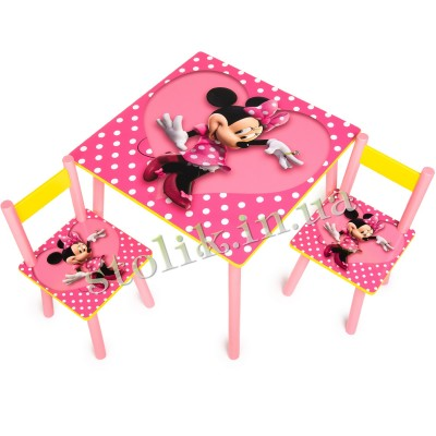 Children's table Mini with 2 chairs B