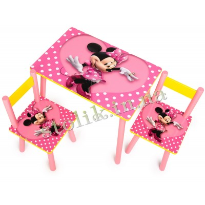 Children's table Mini with 2 chairs