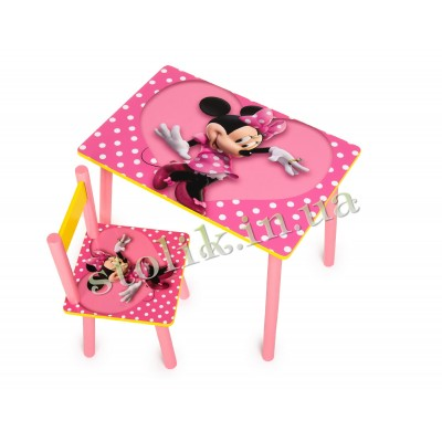 Children's table Mini with 1 chair
