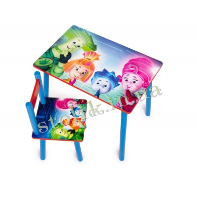 Children's table Fixiki with 1 chair