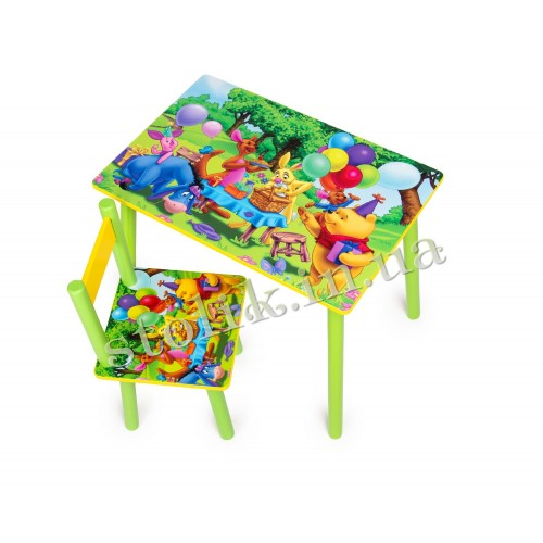 Children's table Winnie Pooh with 1 chair А