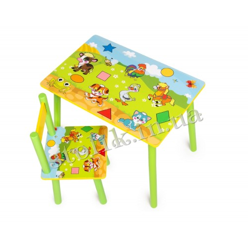 Children's table Kids with 1 chair А